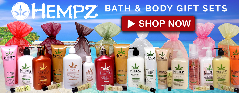 hempz lotions gift set