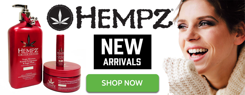 new hempz lotions