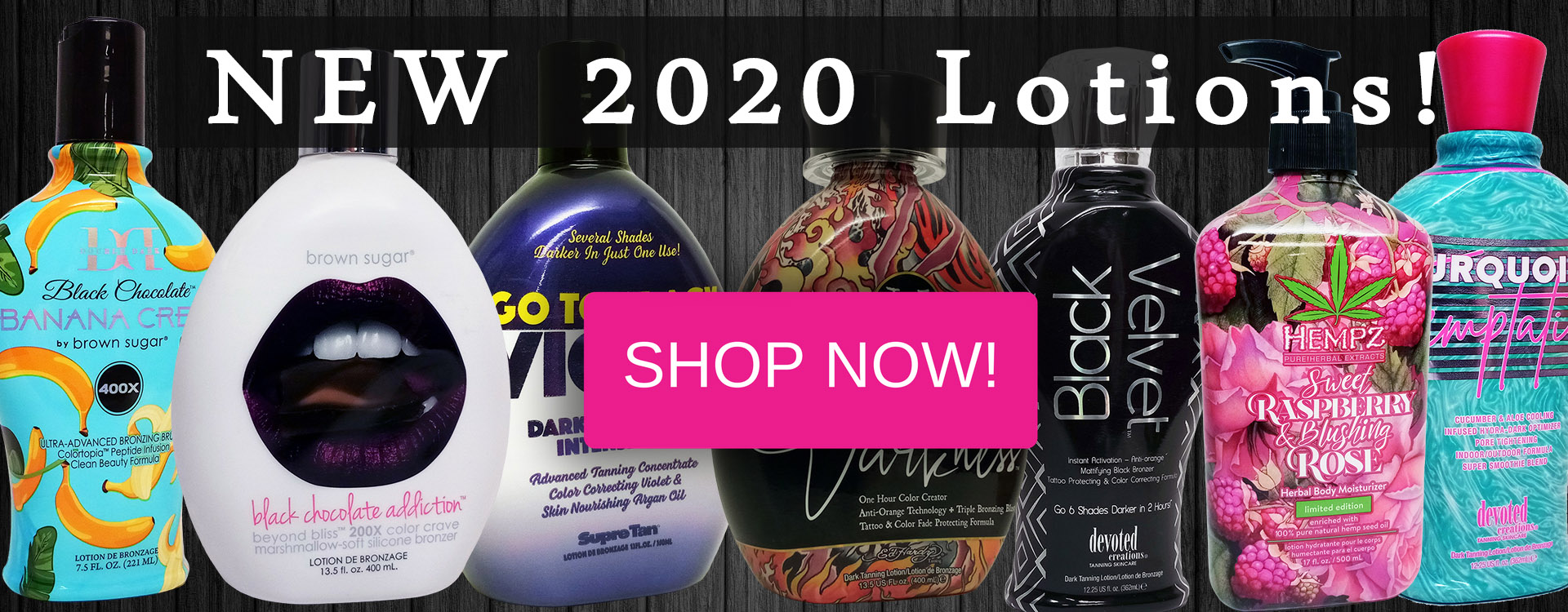 new 2020 tanning lotions