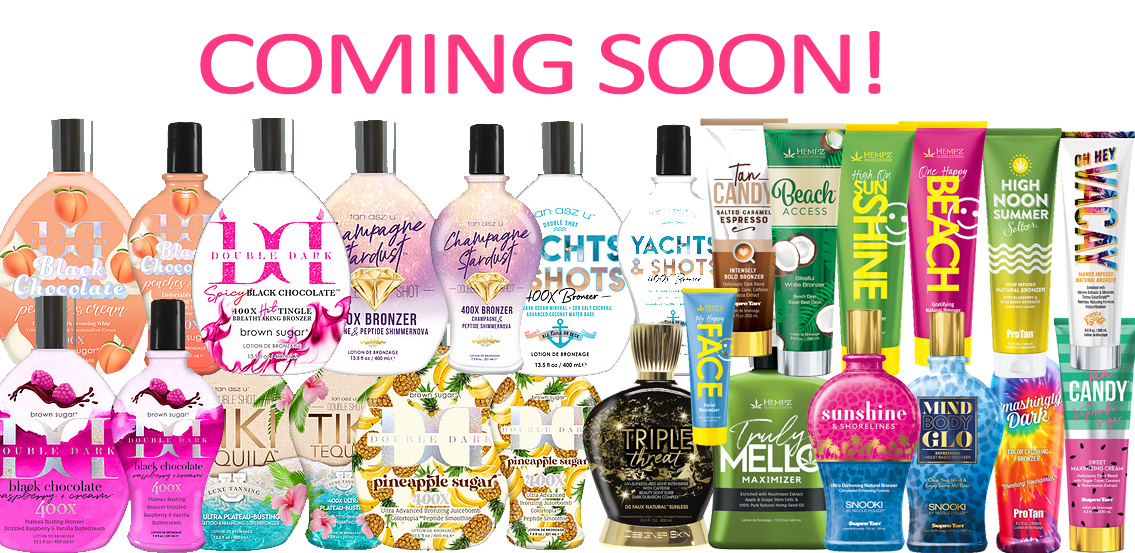 Many new 2022 tanning lotions from all brands