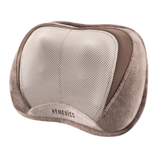 3D Shiatsu Select Massage Pillow with Heat - Front Angle View - HoMedics Canada
