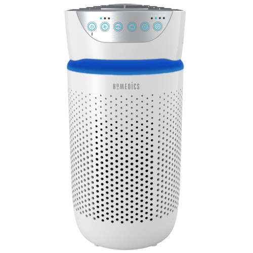 TotalClean® 5-in-1 UV Small Room Air Purifier - Front View Hero Image - HoMedics Canada