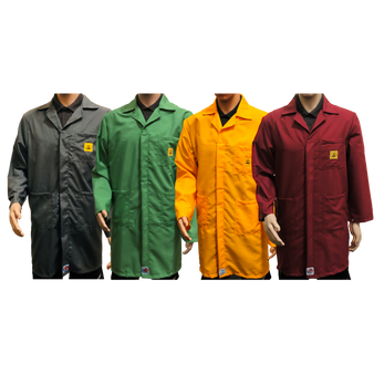 PREMIUM ESD Lab Coats (14 colours)
