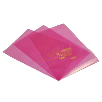 Electrostatic Dissipative Pink Bags (Open Top) (100/Pack) ESD