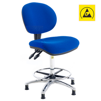ESD Fully Ergonomic Chair (High) (111-117-H)