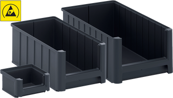 AUER Storage Boxes SK With Open Front ESD (Packaging container products)