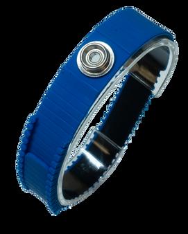 Wrist Strap Hypo-Allergenic Cleanroom PU Blue ESD