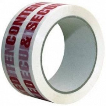 Contents Checked Security Sealed Tape W 50mm x L 66 Metres