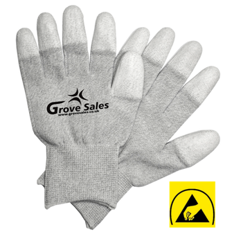 Carbon Knitted Gloves - 1 Pair ESD