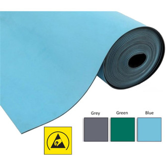 Bench Matting 2 Layer (Roll 1.2M x 10M) (3 Colours) ESD
