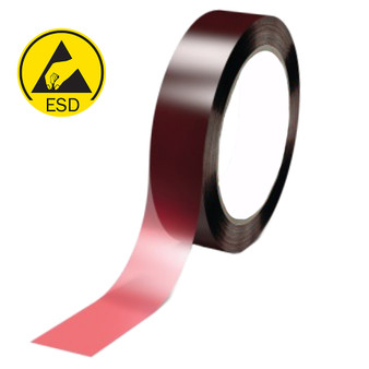 Red Litho Antistatic Tape