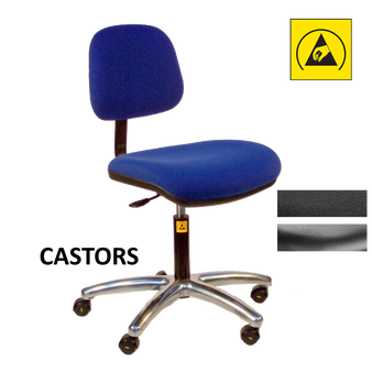 Anti-Static Intermediate Chair - Castors