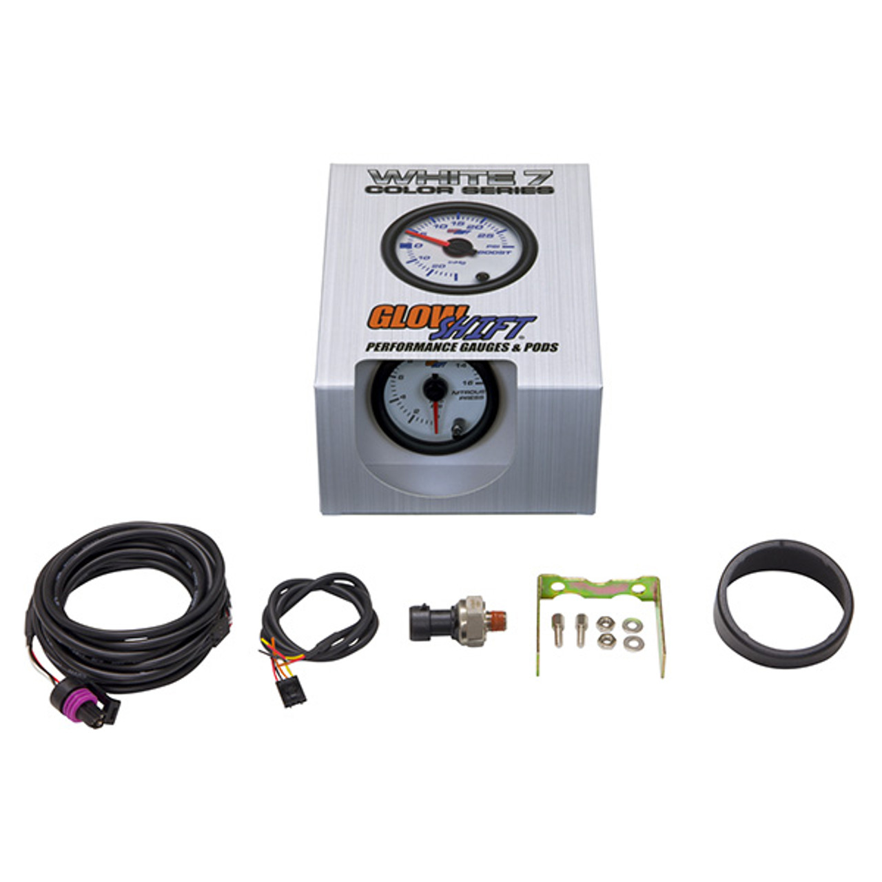 GlowShift 18ft Pressure Gauge Sensor Harness for 7 Color /& 10 Color Digital Series Oil Pressure Extended Length for Trucks Fuel Pressure /& Nitrous NOS Pressure Gauges