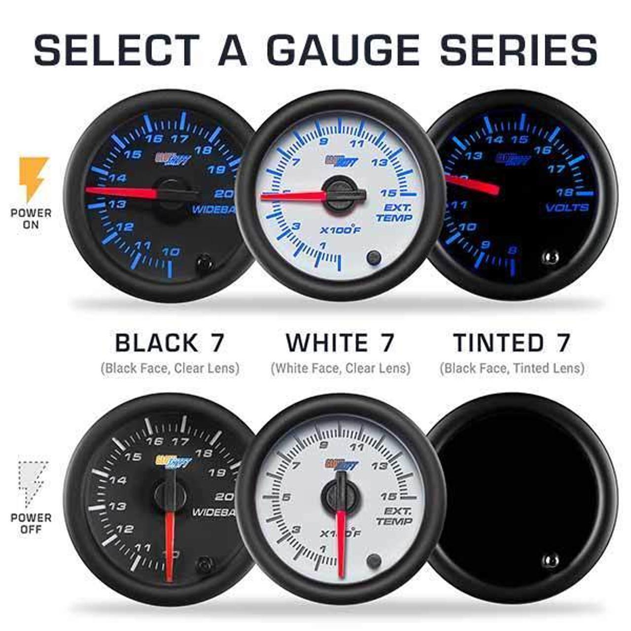 2010 2018 Dodge Ram Cummins Custom 7 Color Gauge Package