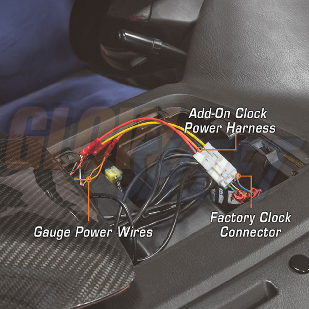 GlowShift | Add-On Clock Power Harness for 2002-2005 Subaru Impreza WRX | Wrx Glowshift Wiring Diagram |  | GlowShift