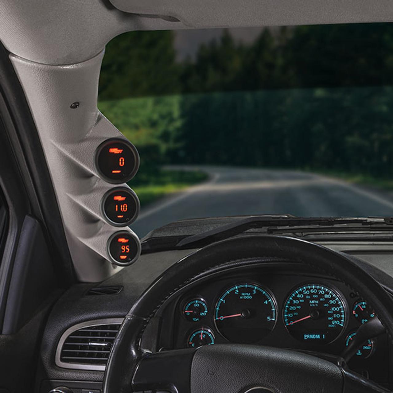 Includes O-Ring GlowShift Transmission Test Port Sensor Thread Adapter for 2000-2013 Chevy Silverado /& GMC Sierra Diesel Trucks GM 6.6L Duramax Allison 1000