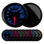 Elite 10 Color 100 PSI Fuel Pressure Gauge
