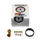 GlowShift White 7 Color Needle Air/Fuel Ratio Gauge Unboxed