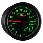 Black & Green MaxTow 60 PSI Boost Gauge