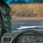 1999-2007 Ford Super Duty Power Stroke Quad Pillar Pod Installed
