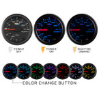 Black 7 Color Series Illumination Features