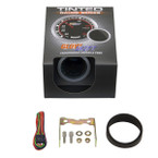 "GlowShift Tinted 2"" Tachometer Gauge Unboxed"