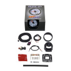 GlowShift White Elite 10 Color 30 PSI Fuel Pressure Gauge Unboxed