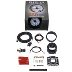 GlowShift White Elite 10 Color 60 PSI Boost Gauge Unboxed