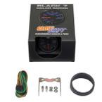 GlowShift Black 7 Color HPOP Gauge Unboxed
