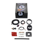 GlowShift White Elite 10 Color 1600 PSI Nitrous Pressure Gauge Unboxed
