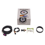 GlowShift White 7 Color 100 PSI Fuel Pressure Gauge Unboxed