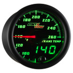 Black & Green MaxTow Transmission Temperature Gauge