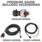 Included Accessories with Pressure Gauges