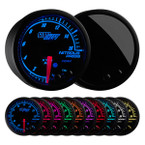 Elite 10 Color 1600 PSI Nitrous NOS Pressure Gauge