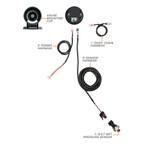 Elite 10 Color Nitrous Pressure Gauge Parts & Wiring Schematic
