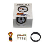 GlowShift White 7 Color Voltmeter Gauge Unboxed