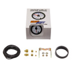 GlowShift White 7 Color 60 PSI Diesel Boost Gauge Unboxed