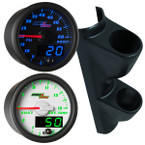 2000-2007 GMC Sierra Duramax Custom Dual MaxTow Gauge Package Gallery