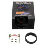 GlowShift Black 7 Color 200 PSI Air Suspension Gauge Unboxed