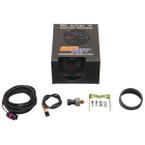 GlowShift Black 7 Color 100 PSI Fuel Pressure Gauge Unboxed
