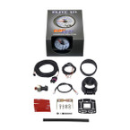 GlowShift White Elite 10 Color Oil Pressure Gauge Unboxed