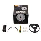 "GlowShift White 7 Color 3 3/4"" In Dash Tachometer RPM Gauge Unboxed"
