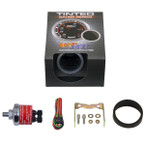 GlowShift Tinted 30 PSI Fuel Pressure Gauge Unboxed