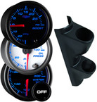 1995-1998 GMC Sierra Full Size Truck Custom Dual 7 Color Gauge Package Thumb