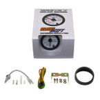 GlowShift White 7 Color Transmission Temperature Gauge Unboxed