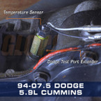 1/8-27 NPT Transmission Test Port Extender Installed