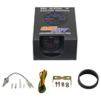 GlowShift Black 7 Color Transmission Temperature Gauge Unboxed