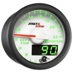 White & Green MaxTow 2200° F Exhaust Gas Temperature Gauge
