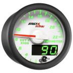 White & Green MaxTow 2200° F Exhaust Gas Temperature Gauge