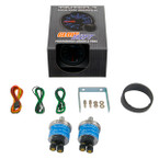 GlowShift Tinted 7 Color Dual Needle Air Suspension Gauge Unboxed